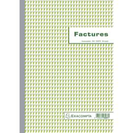 EXACOMPTA Manifold Factures 29,7x21cm - 50 feuillets dupli autocopiants photo du produit