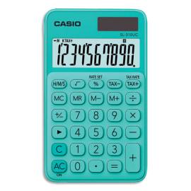 CASIO Calculatrice de poche 10 chiffres Verte SL-310UC-GN-S-EC photo du produit