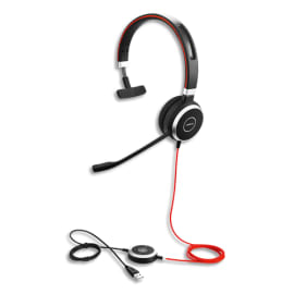 JABRA Casque Evolve 40 UC Mono USB MS 6393-823-109 photo du produit