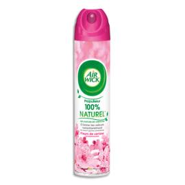 AIR WICK Désodorisant d'atmosphère 4 en 1 aérocol 240 ml parfum Fleurs de Cerisiers photo du produit