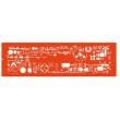 MINERVA Trace symboles électrique, électronique NF C03.101+102+103+106 photo du produit
