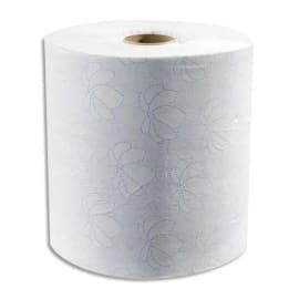 TORK Lot de 6 Rouleaux d'essuie-mains pour distributeur électronique 2 plis 143m, largeur 19,5 cm Blanc photo du produit