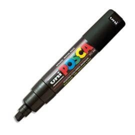 UNI-BALL Marqueur peinture encre Noire à pigmentation et base eau pointe moyenne biseau UNI-POSCA photo du produit