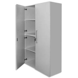 MT INTERNATIONAL Lot de 2 Portes Hautes pour 2 modules MT1 Elégance - Dim 1 porte L39,7 x H159,5 cm Blanc photo du produit
