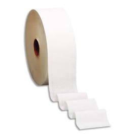 TORK Colis de 12 Bobines de Papier toilette Mini Jumbo Advanced 2 plis L180 m x D19 cm Blanc uni photo du produit