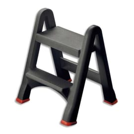 RUBBERMAID Marche-pieds pliable capacité 150kg 48x17x63 cm. photo du produit