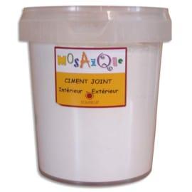 SOLARGIL Pot de 1kg de ciment joint Blanc photo du produit