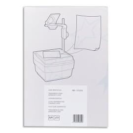 Boîte de 100 transparents antistatiques pour imprimantes Laser photo du produit