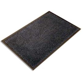 FLOORTEX Tapis d'accueil Ultimat Gris vinyle, nylon et fibres renforcées 90 x 150 cm épaisseur 9 mm photo du produit