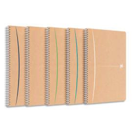 OXFORD Cahier Carte Reliure Intégrale OXFORD TOUAREG 21 x 29,7 cm 180 pages 90g Recyclé Q5/5 photo du produit