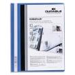 DURABLE Chemise de présentation Duraplus à lamelle A4 - personnalisable + gouttière de passage - Bleu photo du produit