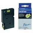 BROTHER Cassette Ruban TC Noir/Jaune 12mmx7,7m TC601pour PT500/8E/2000/3000/5000 photo du produit