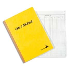 LE DAUPHIN Piqûre livre d'inventaire 21x29,7 cm 160 feuilles photo du produit