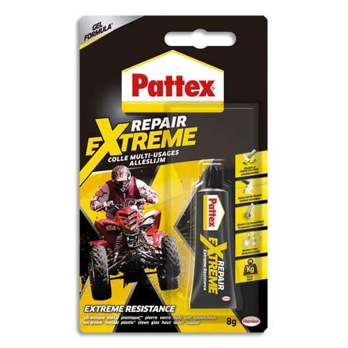 PATTEX Colle Multi-Usages 100% Repair Extreme. Tube 8g photo du produit Principale L
