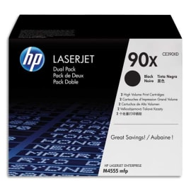 HP Pack de 2 cartouches HC Laser Noir CE390XD photo du produit