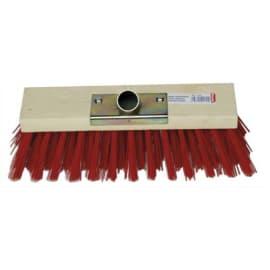BROSSERIE THOMAS Balai cantonnier d'extérieur monture bois fibre PVC douille en métal Largeur 30 cm photo du produit