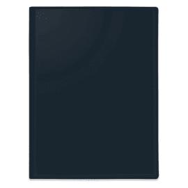 PERGAMY Protege documents personnalisable en polypropylene Noir 40 vues photo du produit