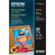 EPSON Boîte de 50 feuilles papier photo Jet d'encre glossy 10 x 15 200g C13S042547 photo du produit