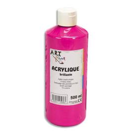 ART PLUS Acrylique brillante 500ml Rouge primaire photo du produit
