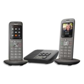 GIGASET Téléphone CL660 avec répondeur DUO Gris L36852-H2824-N101 photo du produit