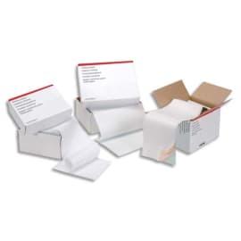 Boîte de 2500 paravents listing format 380x11'' 1 exemplaire Blanc 70g bande caroll fixe photo du produit