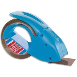 TESA Pack N Go Dévidoir Bleu rechargeable + 1 Adhésif en Polypropylène 54 microns - H50 mm x L66 m Havane photo du produit
