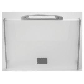 TARIFOLD Valisette Gris anthracite opaque polypropylène rigide. Dimensions 26,1x36,7x4,4cm photo du produit