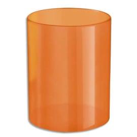 WONDAY Pot à crayons en polystyrène. Dim (Øxh) : 6,8 x 8,6 cm. Coloris Orange photo du produit
