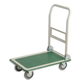 WONDAY Chariot pliable charge utile 300 kg dimensions 72,5x47,2x85 cm photo du produit