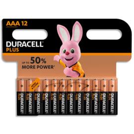 DURACELL Blister de 12 Piles Alcaline 1,5V AAA LR3 Plus Power 5000394018570 photo du produit