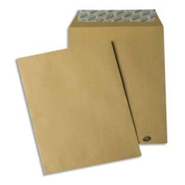 GPV Paquet de 50 pochettes kraft brun auto-adhésives 85g format B5 176 x 250 mm photo du produit