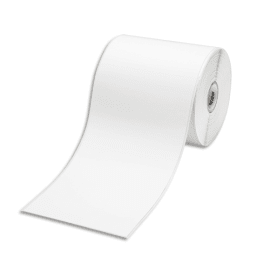 BROTHER Ruban continu support papier adhésif 102mmx44,3m Noir/Blanc RDS01E2 photo du produit