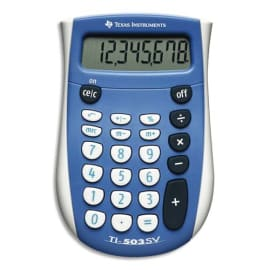TEXAS INSTRUMENTS Calculatrice de poche TI-503 SV - 503SV/FBL/11E1 photo du produit