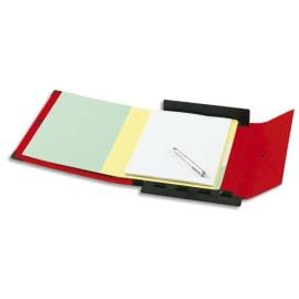 ARIANEX Chemise Innovation, dos 8 cm, trieur 9 onglets, recouverte de PVC Rouge, coins métal photo du produit