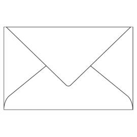 CLAIREFONTAINE Paquet de 20 enveloppes 120g POLLEN 9x14cm. Coloris Blanc photo du produit
