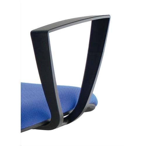 Paire d'accoudoirs fixes Noirs pour sièges Kilima et gaz photo du produit Principale L