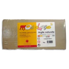 SOLARGIL Argile Naturelle de modelage / Pain de 5 kg Rouge photo du produit