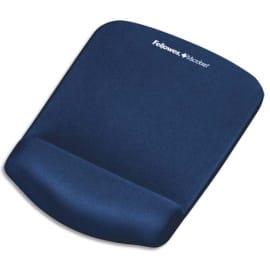 FELLOWES Tapis de souris repose-poignets PlushTouch Bleu marine 9287302 photo du produit