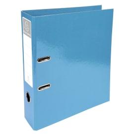 EXACOMPTA Classeur à levier IDERAMA en carton pelliculé. Dos 7 cm. Format A4+. Coloris Turquoise photo du produit