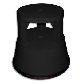 WONDAY Marchepied diamètre 28 cm hauteur 38cm plastique coloris Noir photo du produit