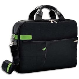LEITZ Sac Inch Laptop Bag pour ordinateur 15,6, 2 compartiments + pochettes - L41 x H31 x P9 cm Noir photo du produit