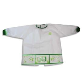 WONDAY Tablier imperméable 3 poches pour enfant 4 à 6 ans en matière recyclée et biodégradable photo du produit