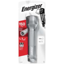 ENERGIZER Torche métal 2D 6 Led Gris autonomie 10h portée 48 m fournie avec 2 piles D 7638900368215 photo du produit