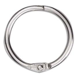 Sachet de 10 anneaux brisés en métal, diamètre 30 mm photo du produit