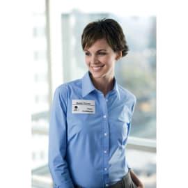 DYMO Rouleau de 300 étiquettes badge Blanc adhésif décollable 41x89 mm S0722560 photo du produit