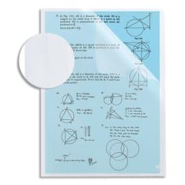 OXFORD Sachet de 10 pochettes-coin ONTHEGO incolore en polypropylène 12/100e anti-glisse. A4. Incolore photo du produit