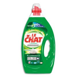 LE CHAT Bidon de 4 litres 80 Doses de lessive Liquide gel concentrée à base de bicarbonate tous textiles photo du produit