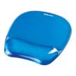 FELLOWES Tapis souris repose-poignet gel crystal Bleu 91141 photo du produit