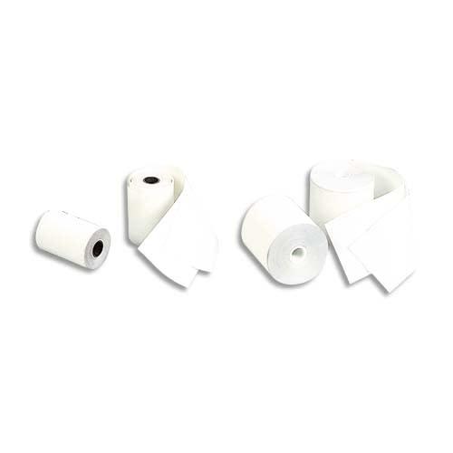 EXACOMPTA Bobine caisse standard 80x80x12mm, 76 mètres, papier thermique 1 pli sans Bisphénol A 55g FSC photo du produit Principale L