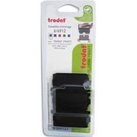 TRODAT Boîte 10 recharges 6/4912 pour appareils 4912/4912T/4952/4992 Xprint. Noir photo du produit